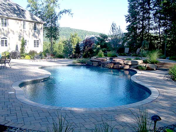 Blue waters construction charlotte nc - Swimming pool builders charlotte nc ...